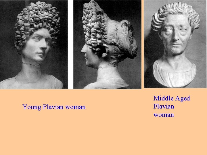 Young Flavian woman Middle Aged Flavian woman