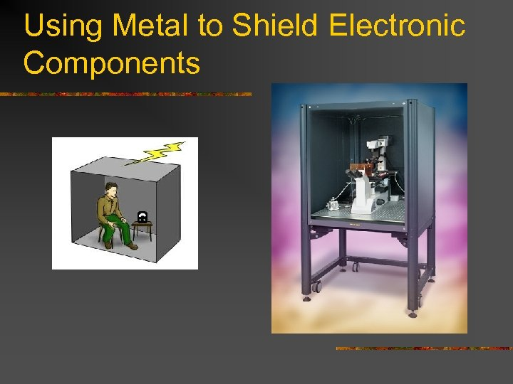 Using Metal to Shield Electronic Components