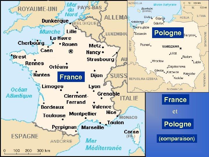 Pologne France et Pologne (comparaison)
