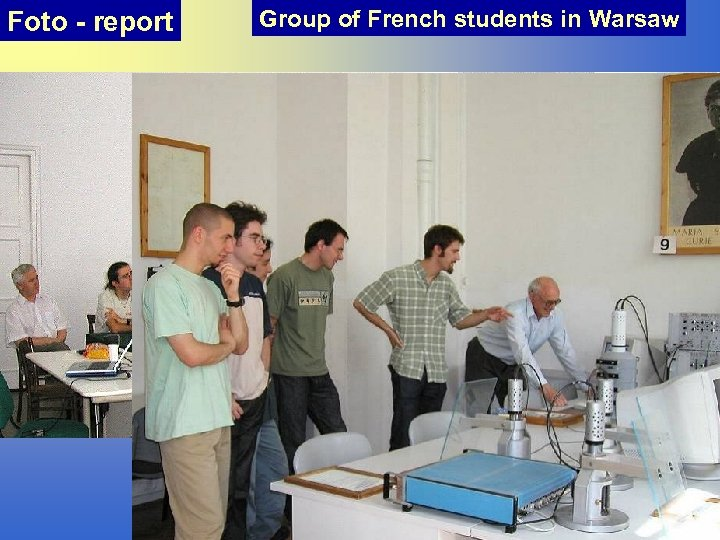 Foto - report Group of French students in Warsaw
