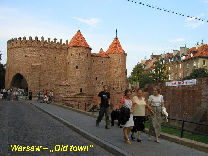 """Warsaw – """"Old town"""""""