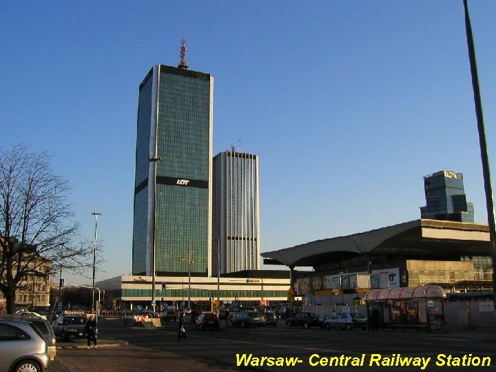 Warsaw- Central Railway Station