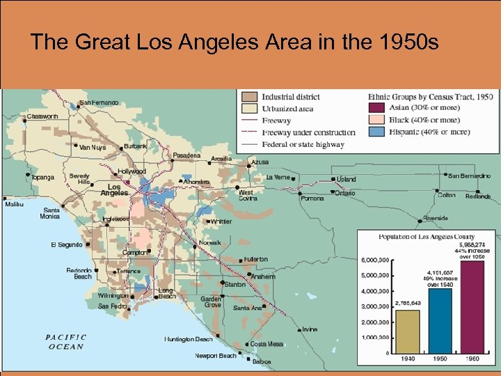 The Great Los Angeles Area in the 1950 s