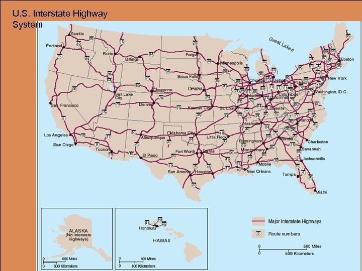 U. S. Interstate Highway System