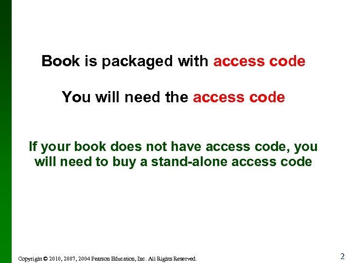 Book is packaged with access code You will need the access code If your