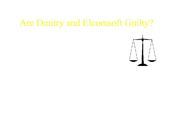 Are Dmitry and Elcomsoft Guilty? AEBPR software. Pros: • Printing e. Books protected with