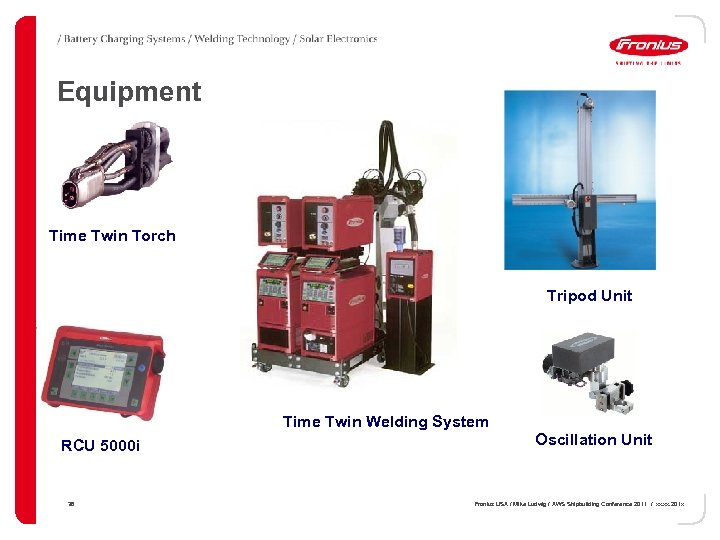 Equipment Time Twin Torch Tripod Unit Time Twin Welding System RCU 5000 i 36