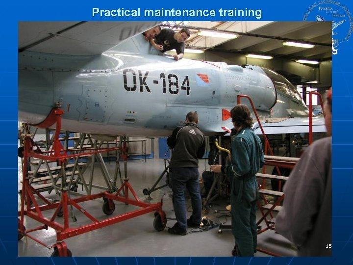 Practical maintenance training 15