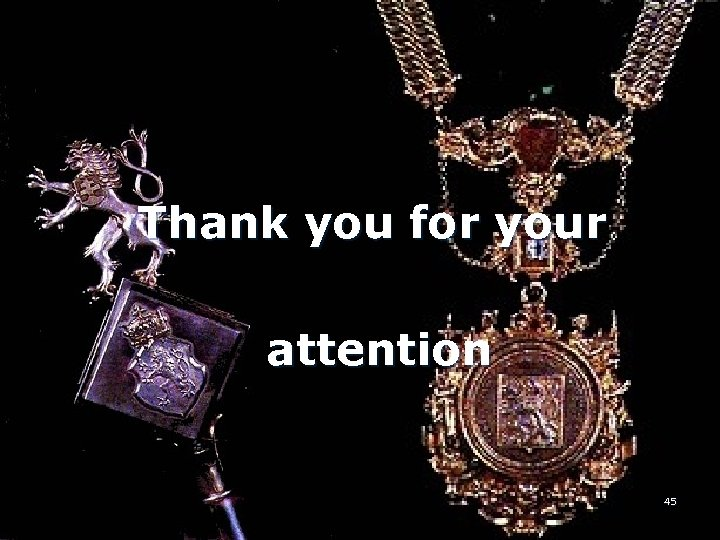 Thank you for your attention 45