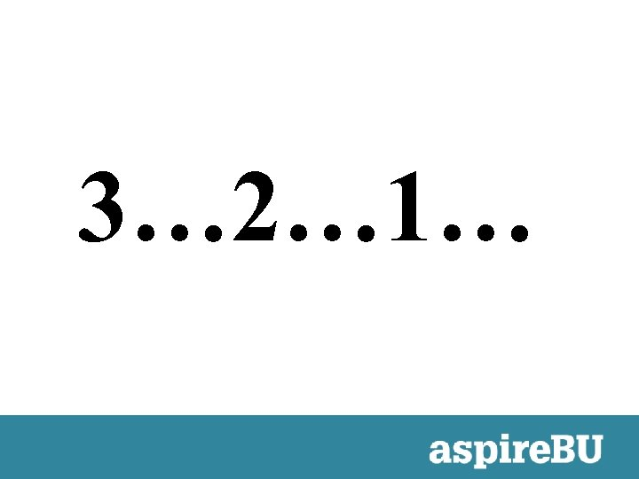 3… 2… 1…