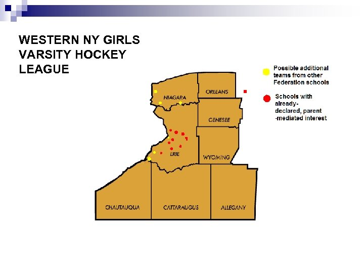 WESTERN NY GIRLS VARSITY HOCKEY LEAGUE