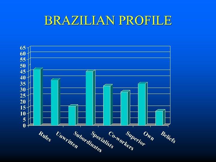 BRAZILIAN PROFILE