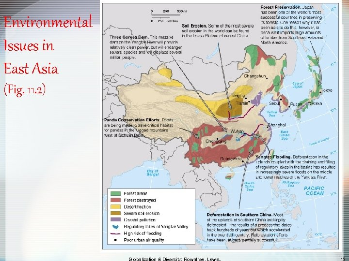 Environmental Issues in East Asia (Fig. 11. 2)