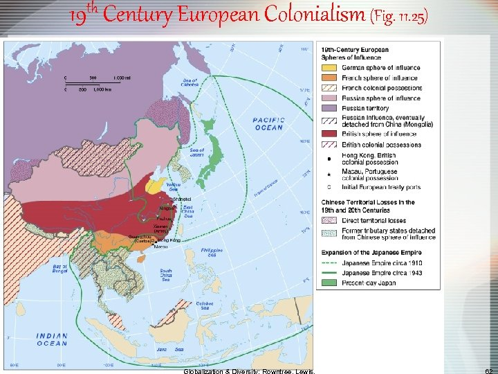19 th Century European Colonialism (Fig. 11. 25)