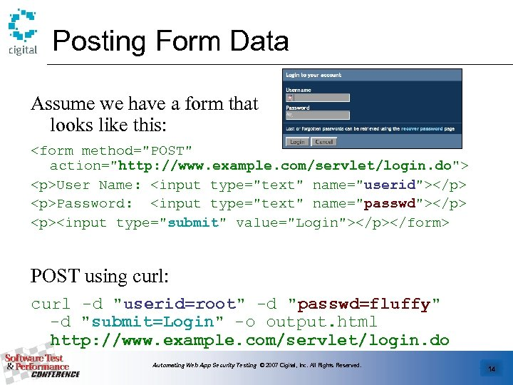 Posting Form Data Assume we have a form that looks like this: <form method=