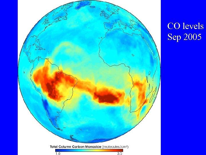 CO levels Sep 2005
