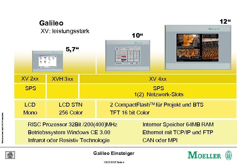 "12"" Galileo XV: leistungsstark 10"" 5, 7"" XV 2 xx XVH 3 xx XV"