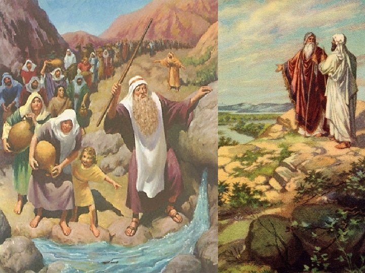 Num 20: 10 - Must we bring water for you out of this rock?
