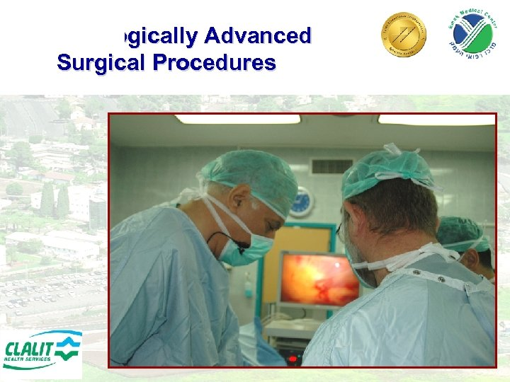 Technologically Advanced Surgical Procedures 20