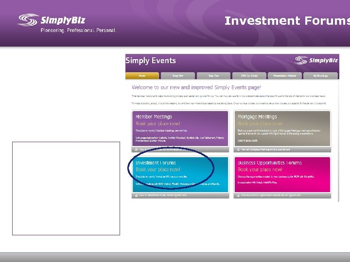 Investment Forums