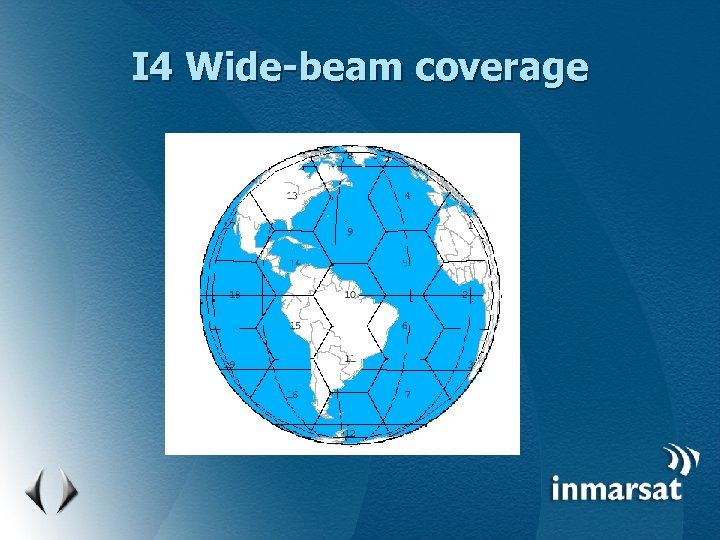 I 4 Wide-beam coverage