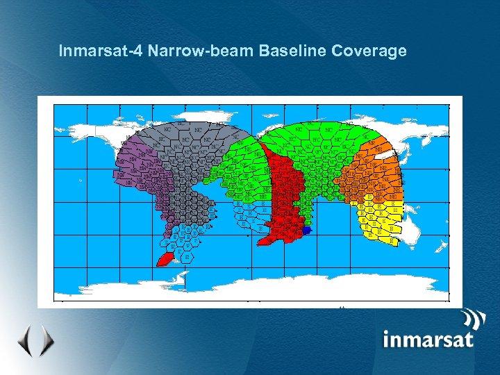 Inmarsat-4 Narrow-beam Baseline Coverage