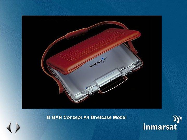 B-GAN Concept A 4 Briefcase Model