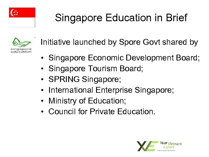 Singapore Education in Brief Initiative launched by Spore Govt shared by • • •