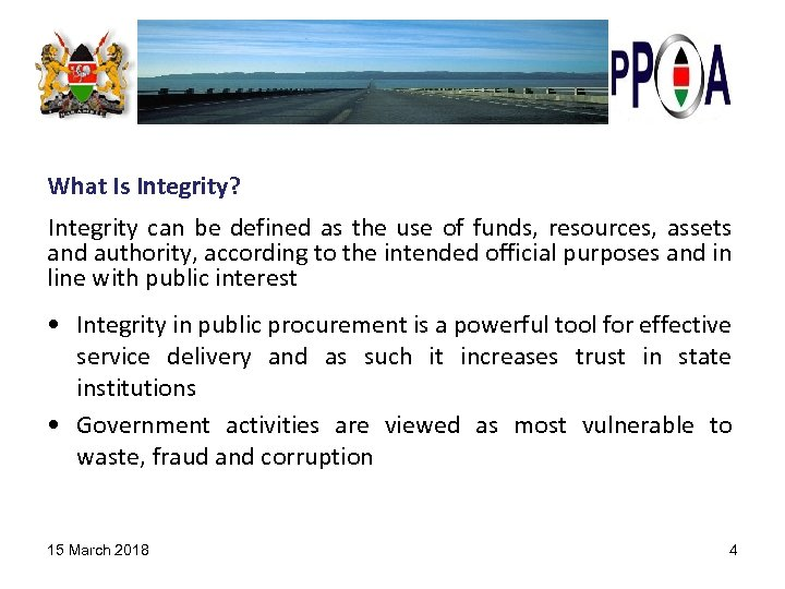 What Is Integrity? Integrity can be defined as the use of funds, resources, assets