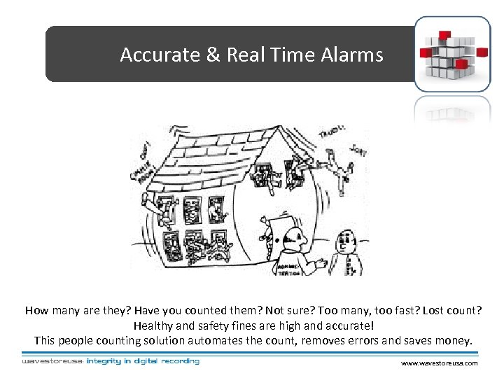 Accurate & Real Time Alarms How many are they? Have you counted them? Not