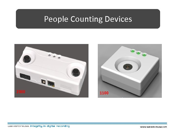 People Counting Devices 2300 1100 www. wavestoreusa. com