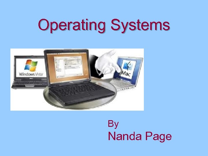 Operating Systems By Nanda Page