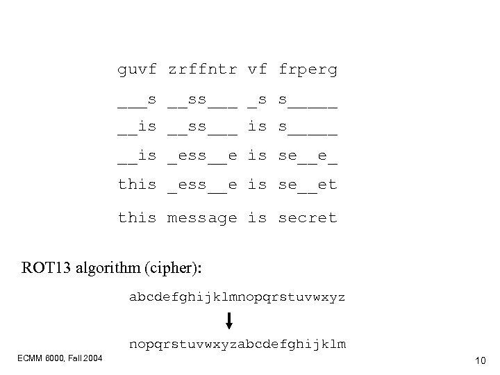 guvf zrffntr vf frperg ___s __ss___ _s s_____ __is __ss___ is s_____ __is _ess__e