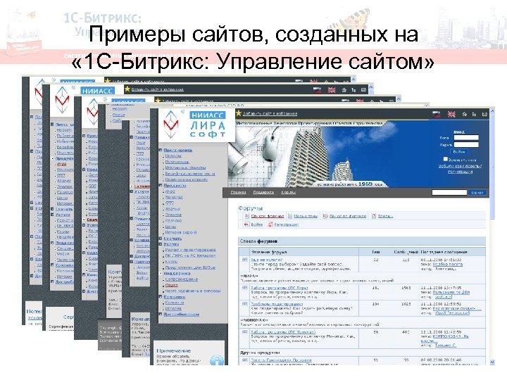 Bitrix пример создания сайта создание фейков для сайтов