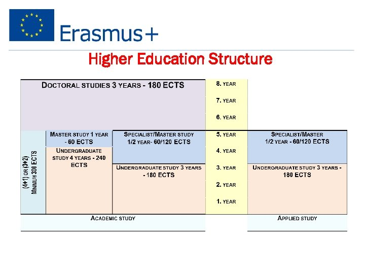 Higher Education Structure