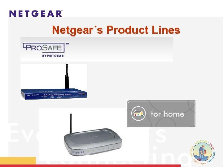 Netgear´s Product Lines