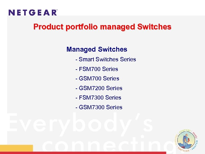 Product portfolio managed Switches Managed Switches - Smart Switches Series - FSM 700 Series