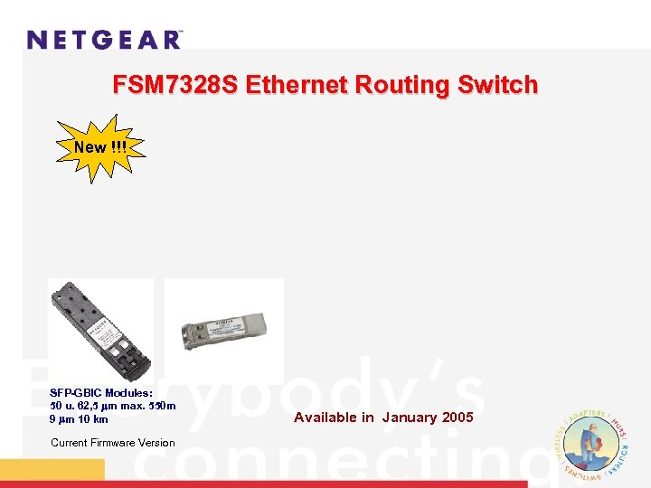FSM 7328 S Ethernet Routing Switch New !!! SFP-GBIC Modules: 50 u. 62, 5