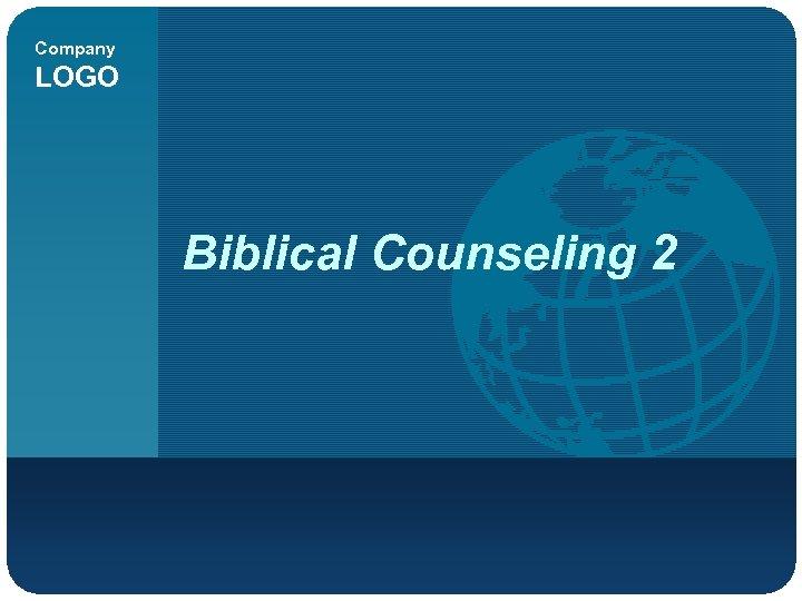 Company LOGO Biblical Counseling 2