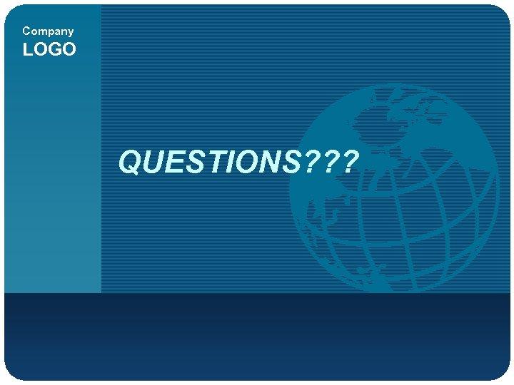 Company LOGO QUESTIONS? ? ?