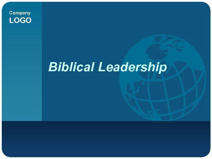 Company LOGO Biblical Leadership