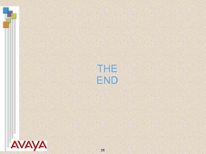 THE END 31