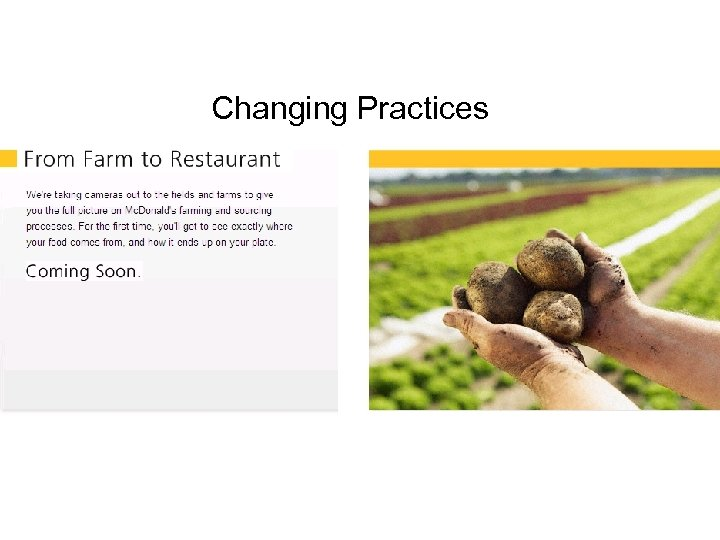 Changing Practices