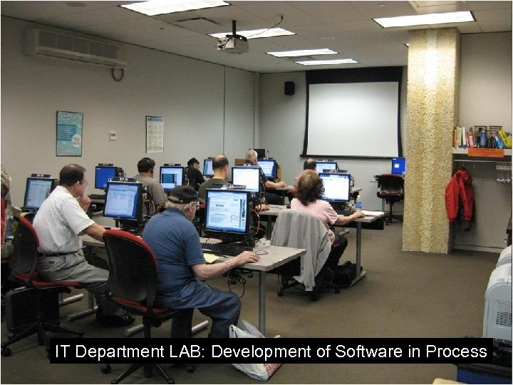 IT Department LAB: Development of Software in Process