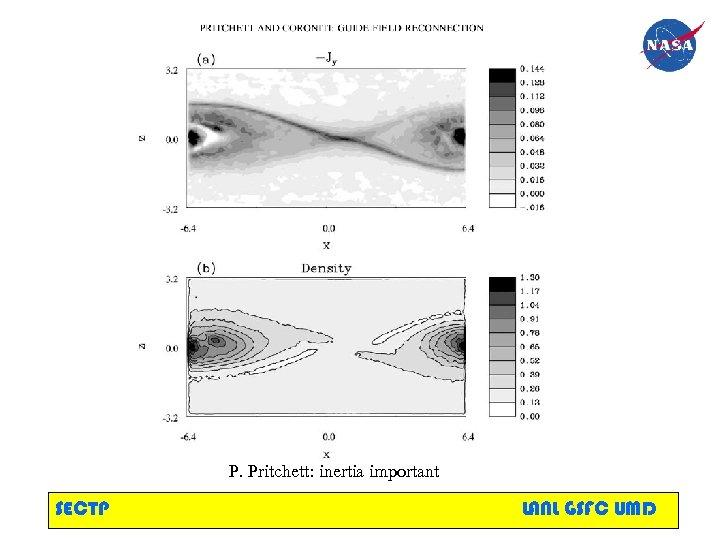 P. Pritchett: inertia important SECTP LANL GSFC UMD