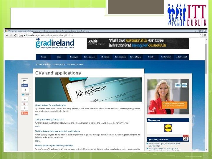 ITT Dublin - Top CV tips October 2014