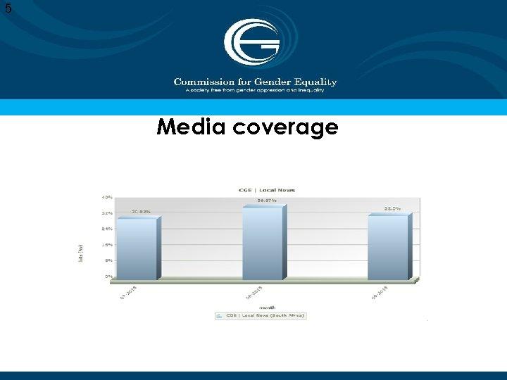 5 Media coverage