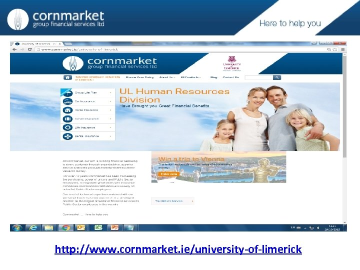 http: //www. cornmarket. ie/university-of-limerick