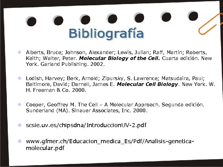 l Alberts, Bruce; Johnson, Alexander; Lewis, Julian; Raff, Martin; Roberts, Keith; Walter, Peter. Molecular