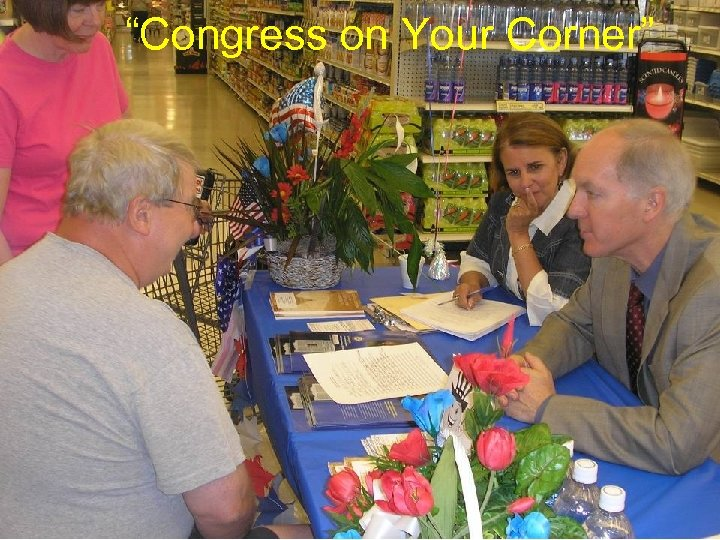 """Congress on Your Corner"""